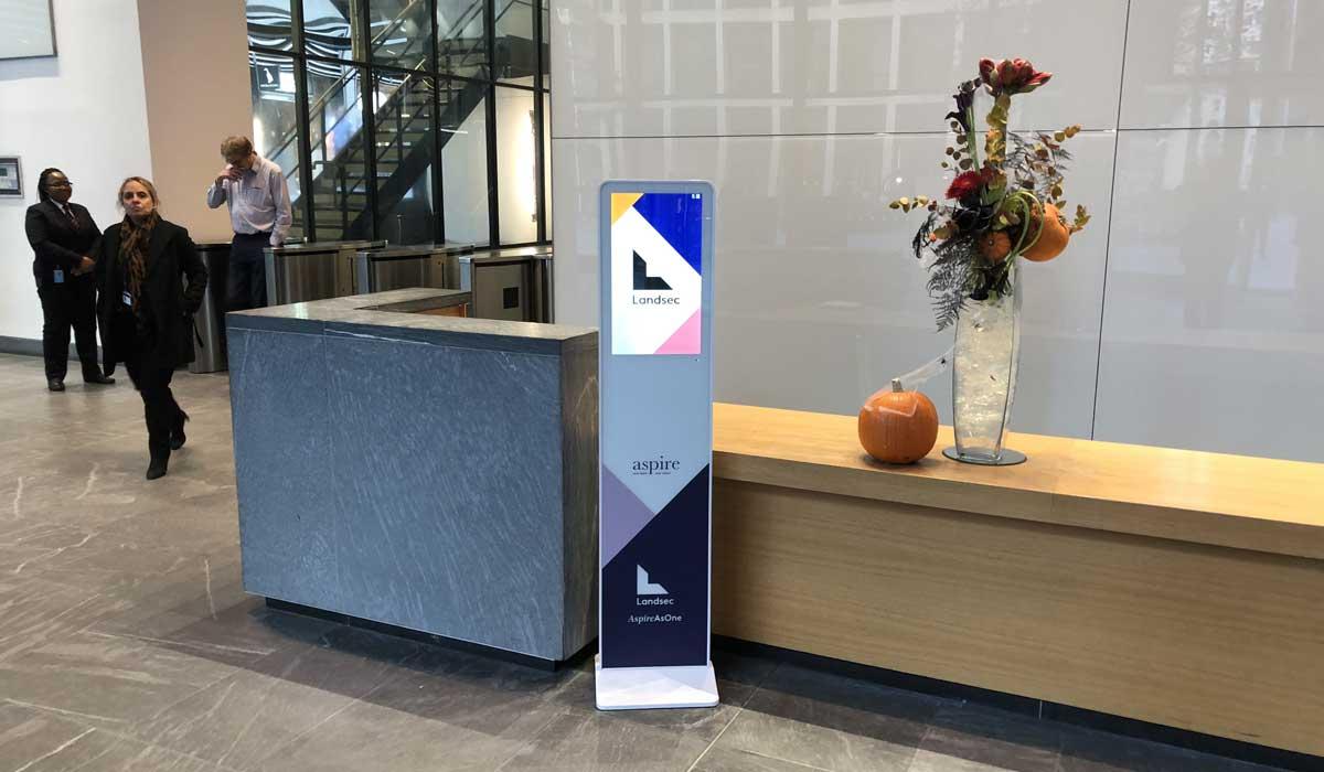 Lobbysign Slim 22 LCD Digital sign